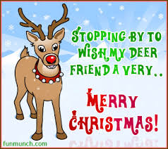 stopping by to wish my deer friend a merry pictures
