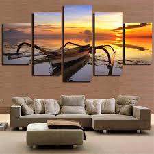Peinture Moderne Pour Salon by Online Get Cheap Art Peinture Moderne Bateaux Aliexpress Com