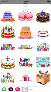 birthday stickers happy birthday stickers 2017 on the app store