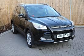 used ford kuga zetec black cars for sale motors co uk