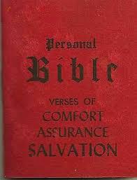 Bible Verse On Comfort Buy Personal Bible Verses Of Comfort Assurance Salvation Little