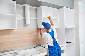 how to hang a cabinet to the wall how are kitchen cabinets attached to the wall the home