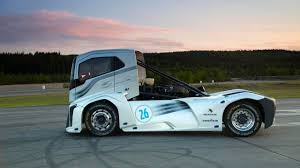 volvo trucks uk bbc autos make way for the world u0027s fastest truck