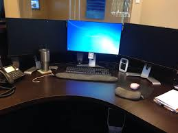 looking for a 3 monitor solution my employer agreed to purchase a