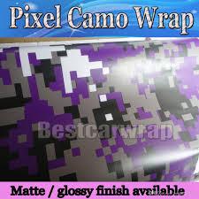 Ford Camo Truck Wraps - purple pixel camo vinyl car wrap film with air rlease digital