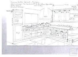 dessiner cuisine plan cuisine amenagee plan en i plan en ii dessiner plan cuisine