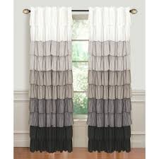 Dainty Home Flamenco Ruffled Shower Curtain Priscilla Curtains Bedroom Plisse Priscilla Curtains Priscilla