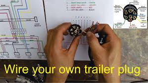 utility trailer 03 4 pin wiring and diagram youtube noticeable
