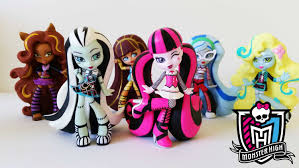 Halloween Monster High Doll Monster High Vinyl Figures Frankie Ghoulia Clawdeen Lagoona