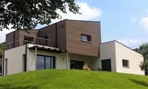 bardage bois claire voie construction d u0027une maison bois à durlinsdorf dans le haut rhin
