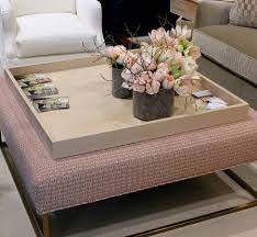 Round Trays For Coffee Tables - stylish stunning large ottoman trays furniture exquisite large