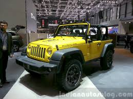 yellow jeep 2015 jeep wrangler rubicon rocks star 2015 geneva live