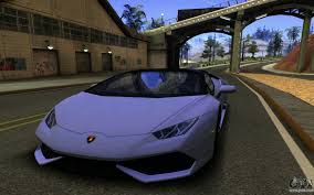 lamborghini huracan purple lamborghini huracan lp610 vellano for gta san andreas