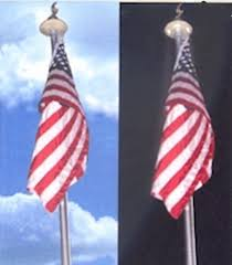 Flag Pole Lights Solar Powered The Solar Light Light Your Flag Pole With This Solar Light