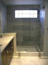 Tile Bathroom Wall Ideas by Shower Wall Tile Shower Tile Of Two Different Sizes Bathtub