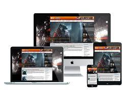 lt games free joomla gaming template