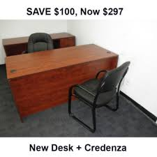 Office Desk Credenza Office Desks Denver Office Furniture Ez
