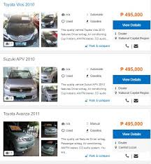 toyota philippines used cars price list can you afford a car based on your current salary