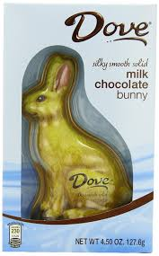 s chocolate bunnies dove silky smooth solid bunny milk chocolate 4 5