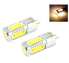 led light bulb replacement led gy6 35 12v ac dc bulb light 450lm 5 watts cob leds g6 35 bulb