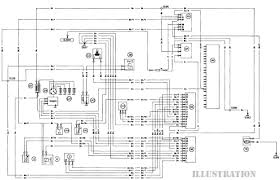 ford escort body electrical system diagram
