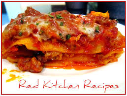 Ingredients For Lasagna With Cottage Cheese by Red Kitchen Recipes No Ricotta Lasagna