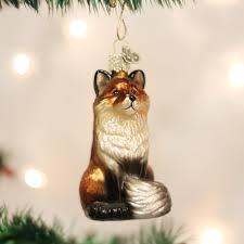 fox ornament old world christmas 729343120991