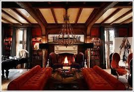 tudor home interior tudor interiors upholstery garnet ruby reds