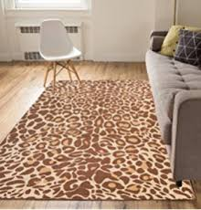 Leopard Print Rug Living Room Amazon Com Large 8x11 Cheetah Rug Animal Print Rectangle Leopard
