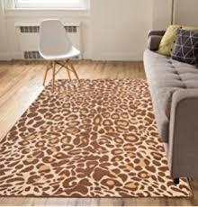 Cheetah Runner Rug Amazon Com Large 8x11 Cheetah Rug Animal Print Rectangle Leopard
