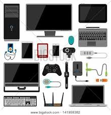 Electronics Gadgets Electronic Gadgets Vector Icons Vector U0026 Photo Bigstock