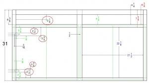 kitchen cabinet face frame dimensions installing euro hinges woodworking talk woodworkers forum