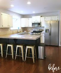 diy kitchen remodels home design ideas and pictures since we moved in i wanted a new layout new cabinets but after getting