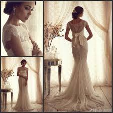 vintage summer wedding dresses vintage lace luxury trumpet wedding dresses 2015 cheap