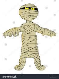 cute halloween background vectors cute halloween mummy vector symbol icon stock vector 500437594
