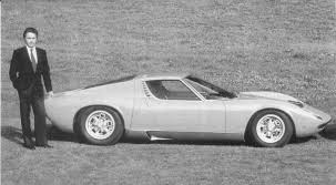 first car ever made car with purring name lamborghini miura