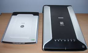 large bed scanner comparing the depth of field of two types of flatbed scanner a