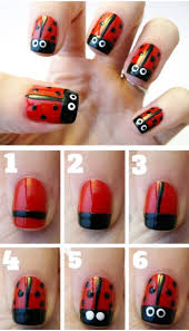 nail art striking step by nail art image inspirations flowers