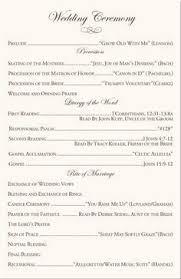 exles of wedding programs catholic wedding readings wedding ideas 2018