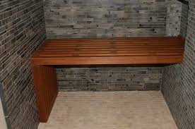 Teak Shower Seat Cedar Shower Bench Militariart Com