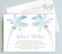 palm tree wedding invitations wedding invitation suite palm tree wedding invite