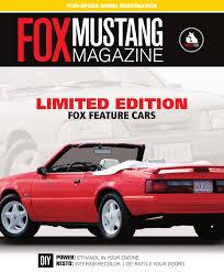 fox mustang interior restoration fox mustang magazine issue 8 by fox mustang magazine issuu