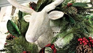 Hobby Lobby Christmas Deer Decor by Christmas Mantel Decorating Ideas With Plaid U0026 Glitter Magic Brush