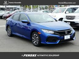 Price Of Brand New Honda Civic 2017 New Honda Civic Hatchback Lx Cvt At Honda Of Escondido