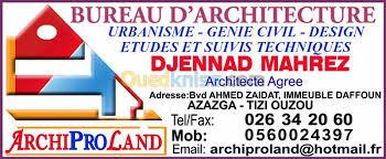 bureau d ude urbanisme bureau d etudes d architecture algerie tizi ouzou azazga algérie