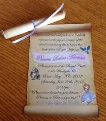 sofia birthday invitation size sheets filing