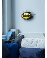 Batman Lights Batman Logo 3d Led Wall Light Lighting Bedroom Night Light