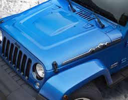 jeep cj hood product 2014 jeep wrangler polar edition hood left u0026 right decal