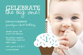 birthday invitation cards for baby boy