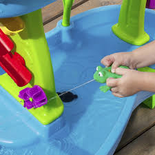 step 2 rain showers splash pond water table step2 rain showers splash pond water table blue green